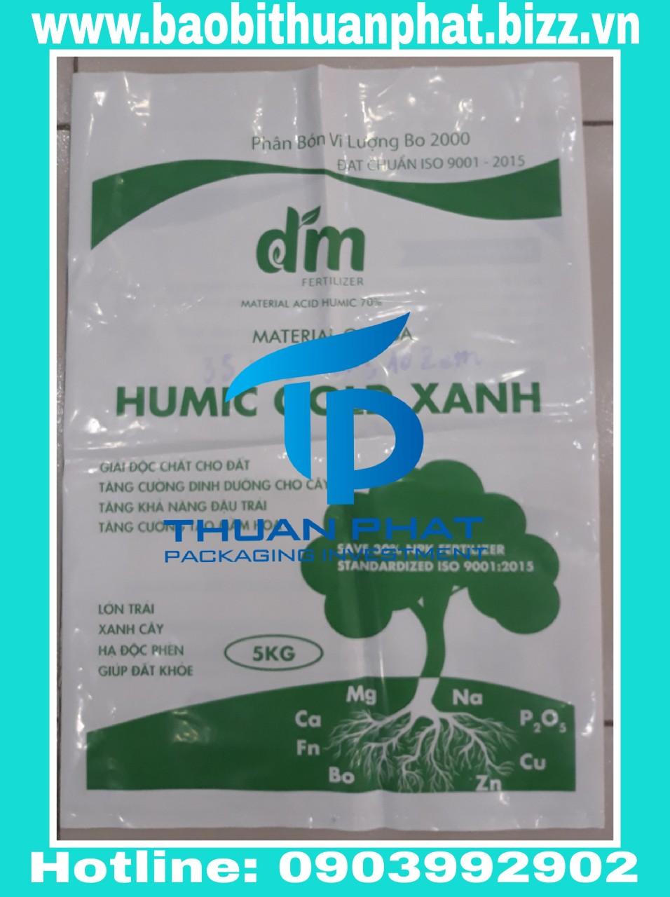 Bao đựng  phân bón  5kg  (PA trắng sữa)