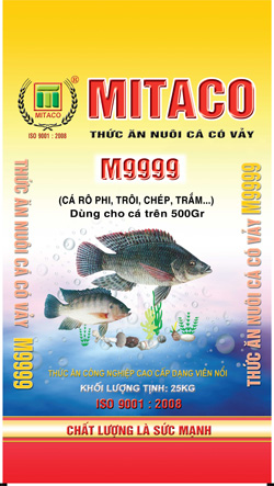 Bao thức ăn thủy sản